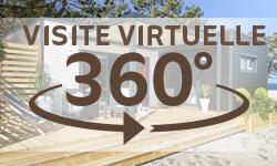 Visite virtuelle chalet bois Kubio 50m²