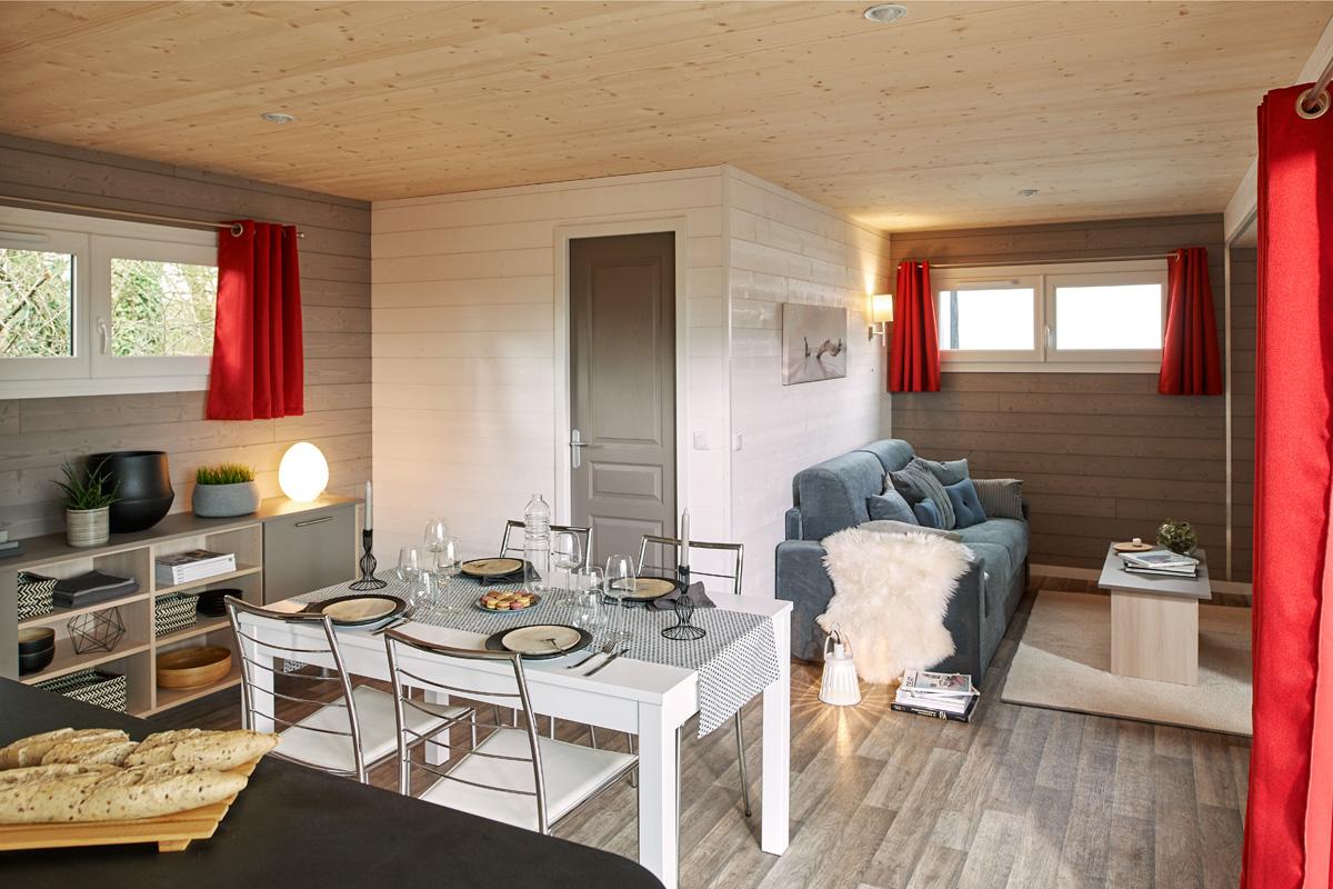 Kubio 50 m² - séjour