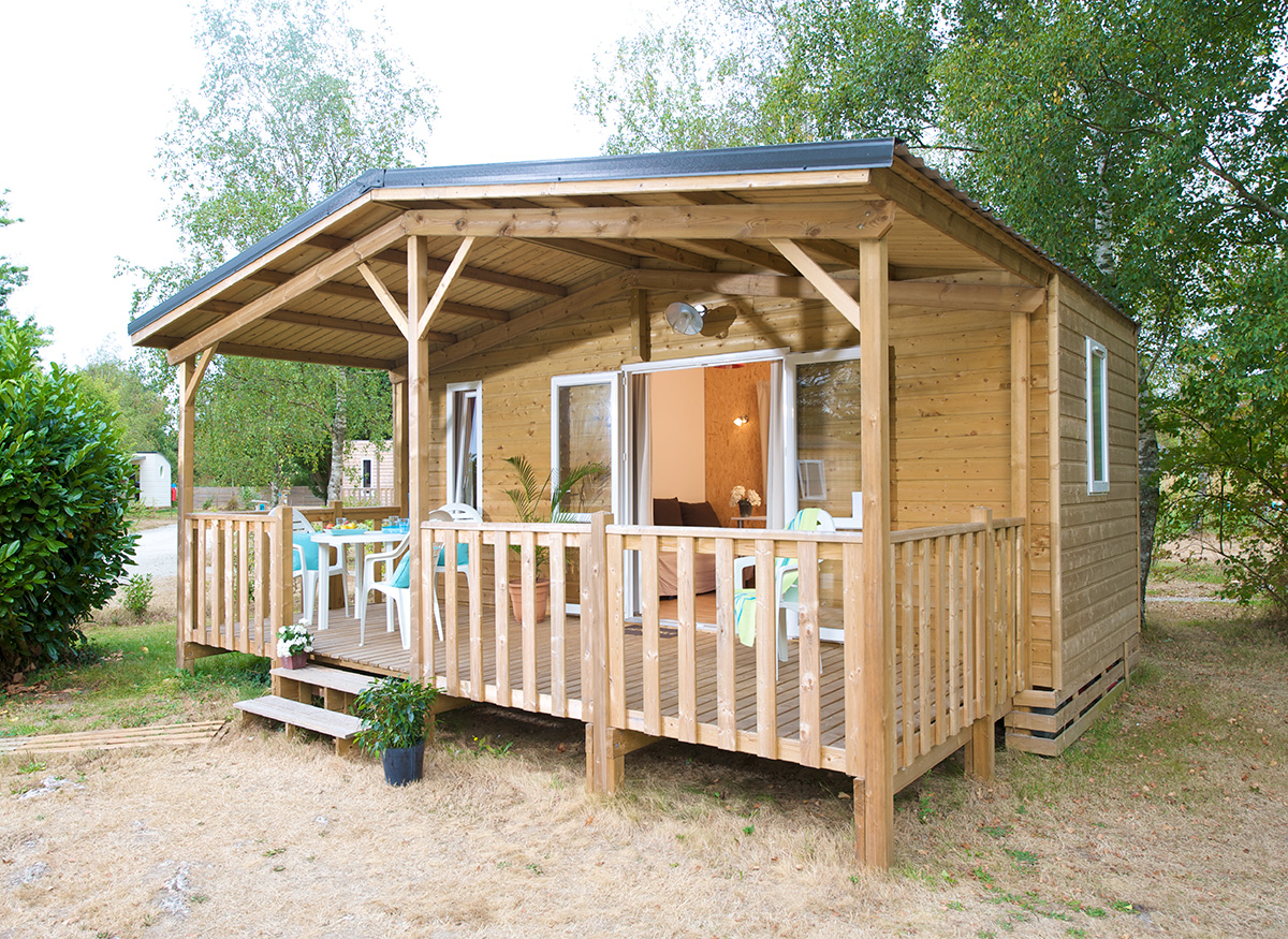 chalet bois traditionnel Nexo 18m²
