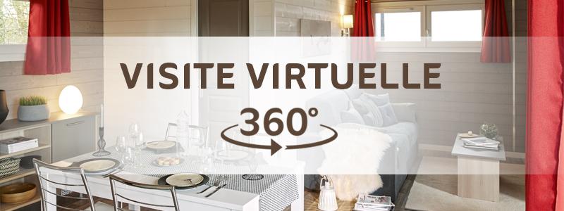 Visite virtuelle chalet en bois Logis de Montaigu