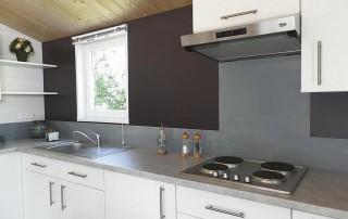 chalet bois Nexo 48m² - cuisine