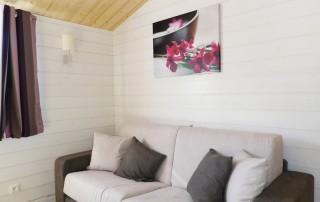 chalet bois Nexo 48m² - salon