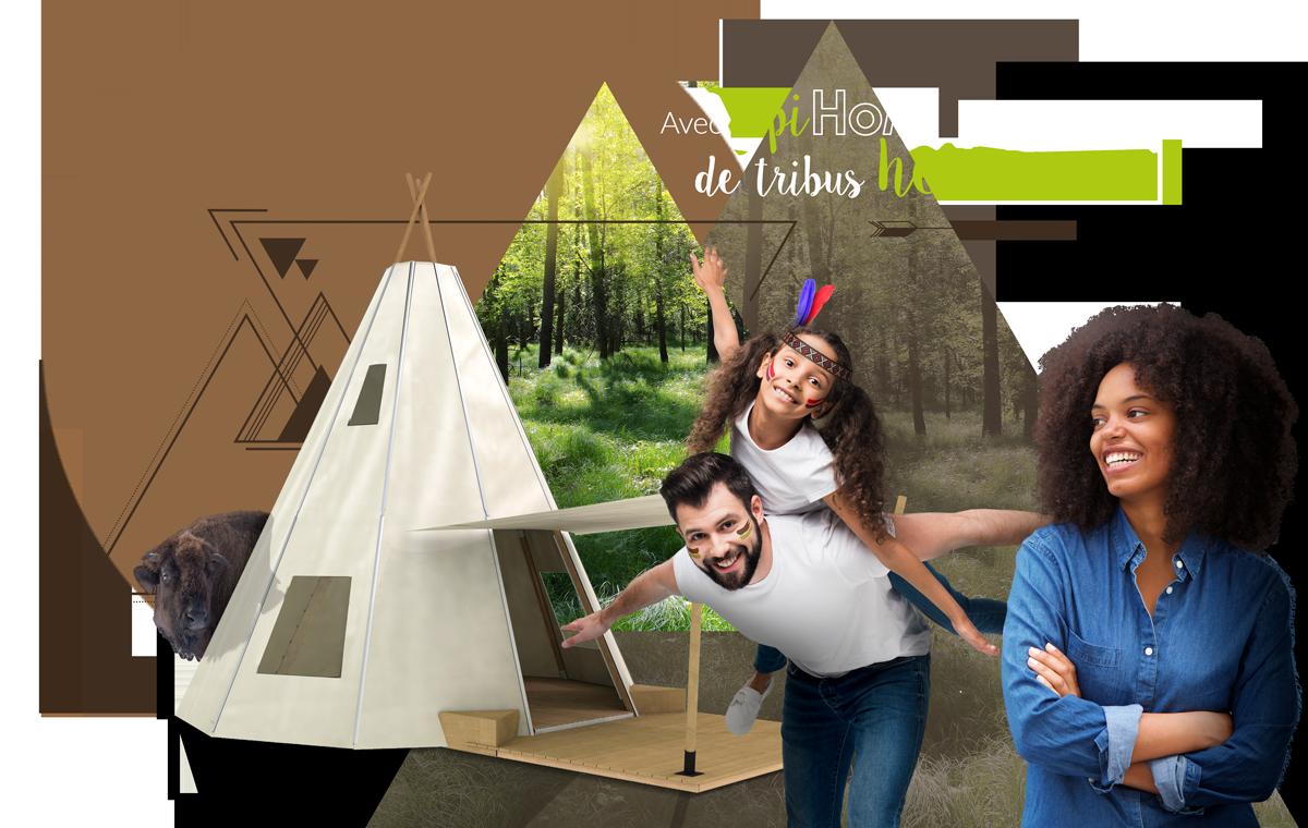 Tipihome - tipi - hébergement insolite pour camping, PRL et gîtes