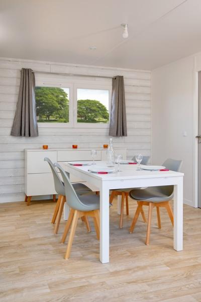 chalet bois moderne 50m² - 2 chambres - chambre enfants