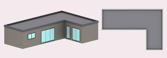 chalet en bois kubio 76 m²
