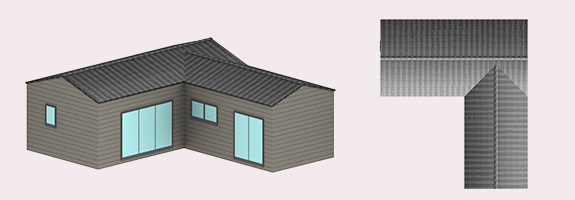 chalet en bois 60 m²